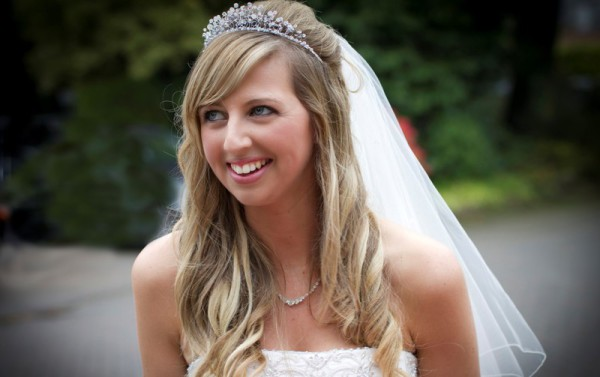 Bride at Woodlands Hotel, Broughty Ferry