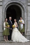 Bride and Bridesmaids at Ardverikie Estate