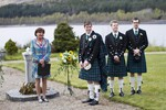 Groom and Best men waiting for bride at Ardverikie Estate