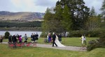 Bridal group at Ardverikie Estate