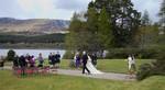 Bridal group at Ardverikie Estate