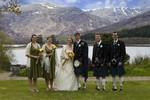 Bridal Party at Ardverikie Estate wedding
