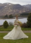 Bride at Ardverikie Estate wedding