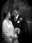 Bride and Groom at Ardverikie Estate wedding