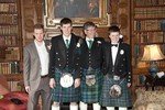 Kilts at Ardverikie Estate