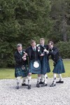 Kilts at Ardverikie House Estate wedding