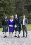 Family at Ardverikie Estate