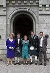 Guests at Ardverikie Estate wedding