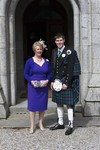 Guests at Ardverikie Estate wedding