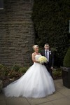 Bride and Father at Landmark Hotel Dundee