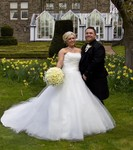 Bride and Groom at Landmark Hotel Dundee