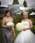 Bride and Bridesmaid at Landmark Hotel Dundee