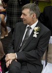 Proud father of the bride at Landmark Hotel Dundee