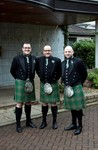 Kilts outside Invercarse Hotel, Dundee