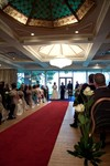 Bride and father at Invercarse Hotel, Dundee