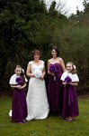 Bridal party at Invercarse Hotel, Dundee