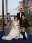 Wedding guests at Invercarse Hotel, Dundee