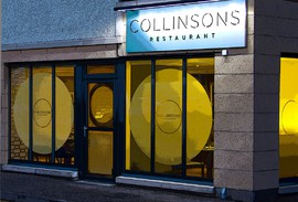 Exterior of Collinsons Restaurant, Broughty Ferry, Dundee