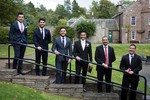 groom at Muslim wedding at the Byzantium, Monikie Country Park
