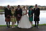 Bridal party at Forbes of Kingennie Dundee wedding photography