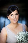 Bridesmaid at Forbes of Kingennie Dundee wedding photography