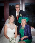 Mum and Dad and Bride at Forbes of Kingennie