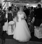 Bride at Forbes of Kingennie Dundee wedding photography