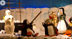 Gillies of Broughty Ferry famous Christmas window display