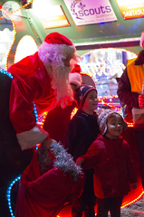 Broughty Ferry Christmas lights switch-on 2014