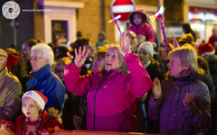 The crowds enjoy themselves at the Broughty Ferry Christmas Lights Switch-onThe crowds enjoy themselves at the Broughty Ferry Christmas Lights Switch-on