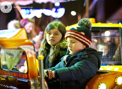 Broughty Ferry Christmas lights switch-on 2014h-on