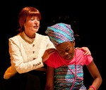 The cast performed a play about Dundee's Mary Slessor at the African Praise and Gospel Concert, Caird Hall, Dundee