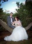Bride and Groom at Broughty Ferry Rock Gardens, Dundee