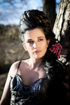 Photoshoot with Scottish model Elaine Harris from Dundee