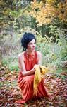 Photoshoot with Scottish model Elaine Harris from Dundeeris