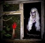 Halloween Photoshoot with model Elaine Harris